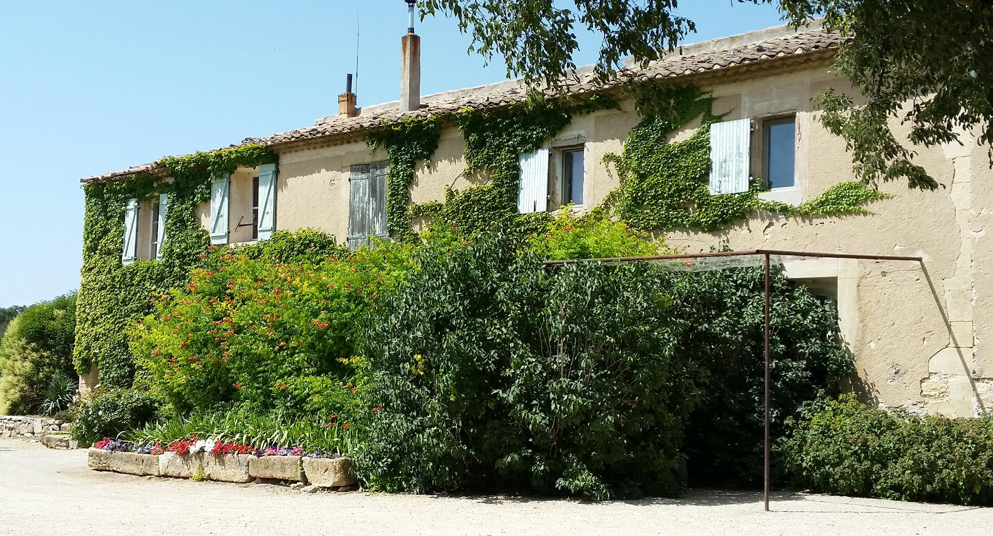 Salle de réception à Lançon-Provence